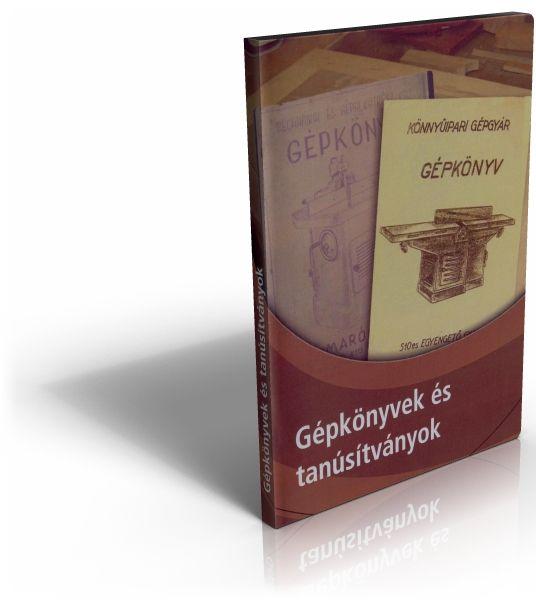 Gépkönyvek és tanúsítványok DVD