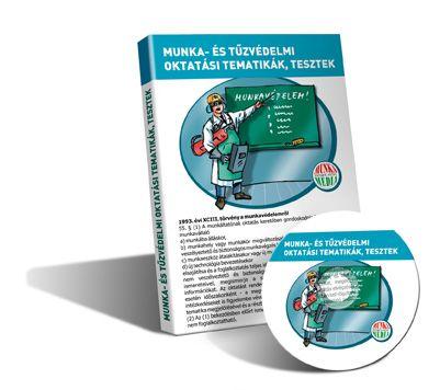Oktatási tematikák, tesztek CD